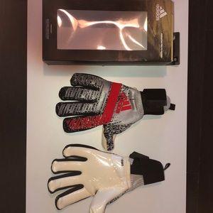 adidas Predator Pro FS Gloves Soccer Size 10